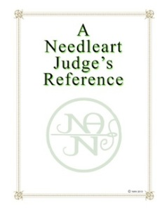 A Needleart Judge's Reference